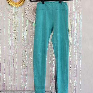 Lularoe leggings, OS, teal/turquoise color